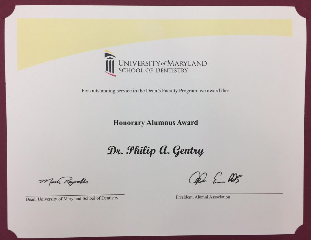 Dr-Philip-Gentry-award
